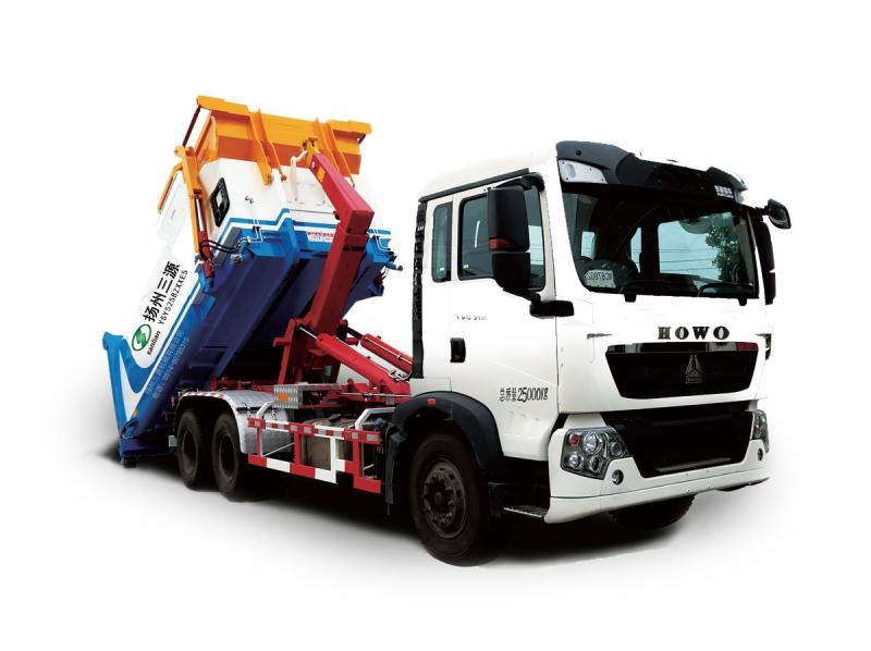 YSY5258ZXXE5车厢可卸式垃圾车