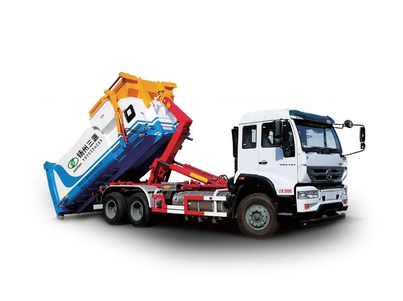 YSY5256ZXX车厢可卸式垃圾车