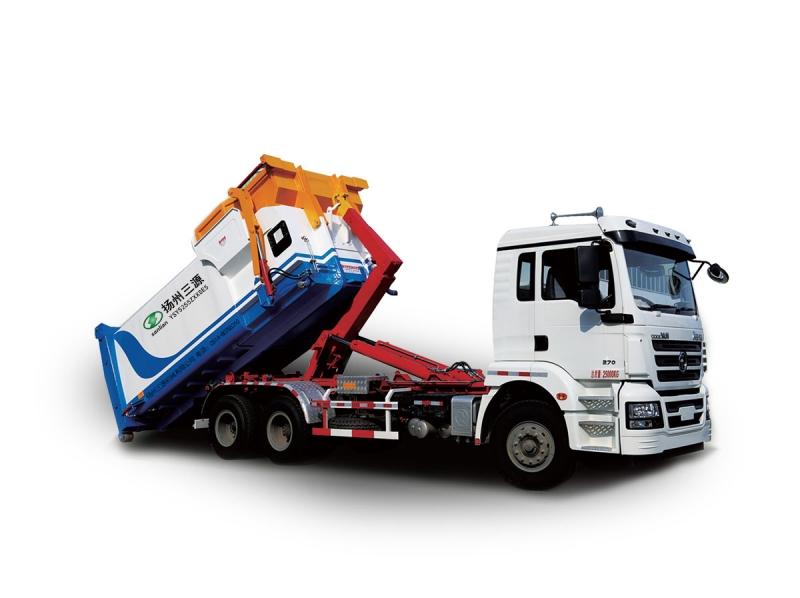 YSY5255ZXXSE5车厢可卸式垃圾车