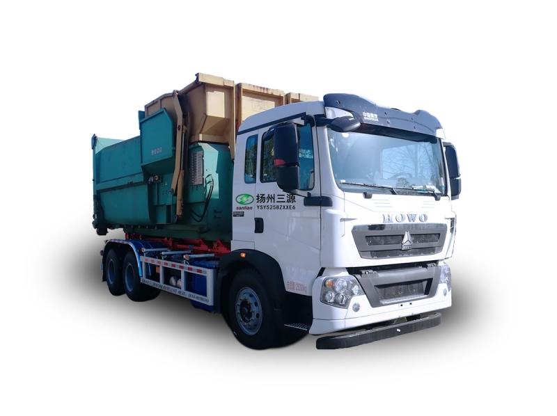 YSY5258ZXXE6车厢可卸式垃圾车