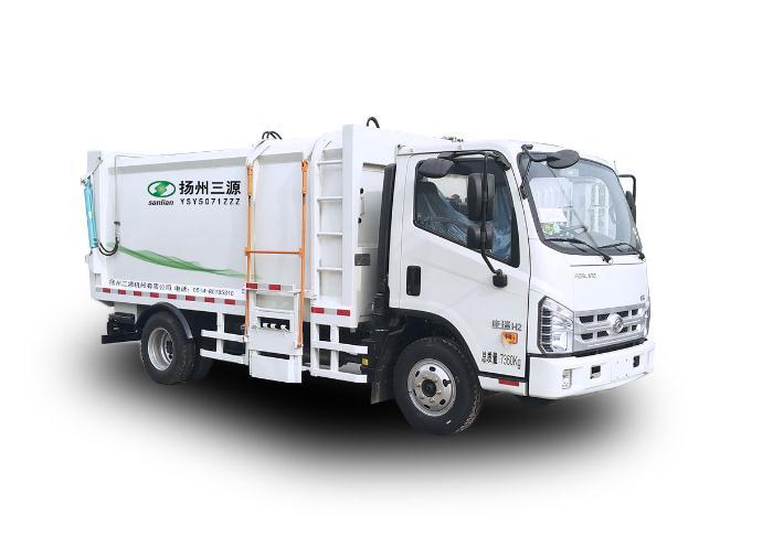 钩臂式垃圾车操作方法和步骤是怎样的?