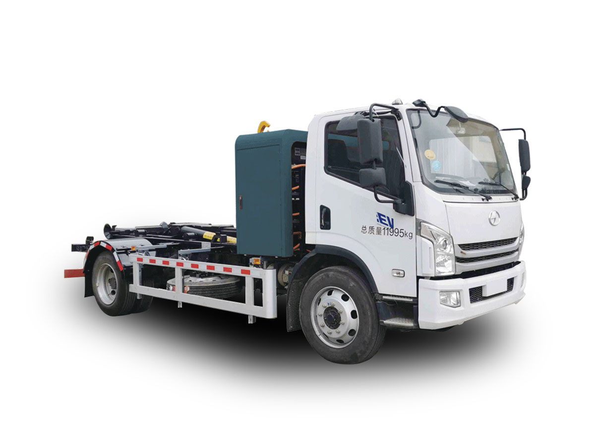 YSY5120ZXXBEV纯电动车厢可卸式垃圾车