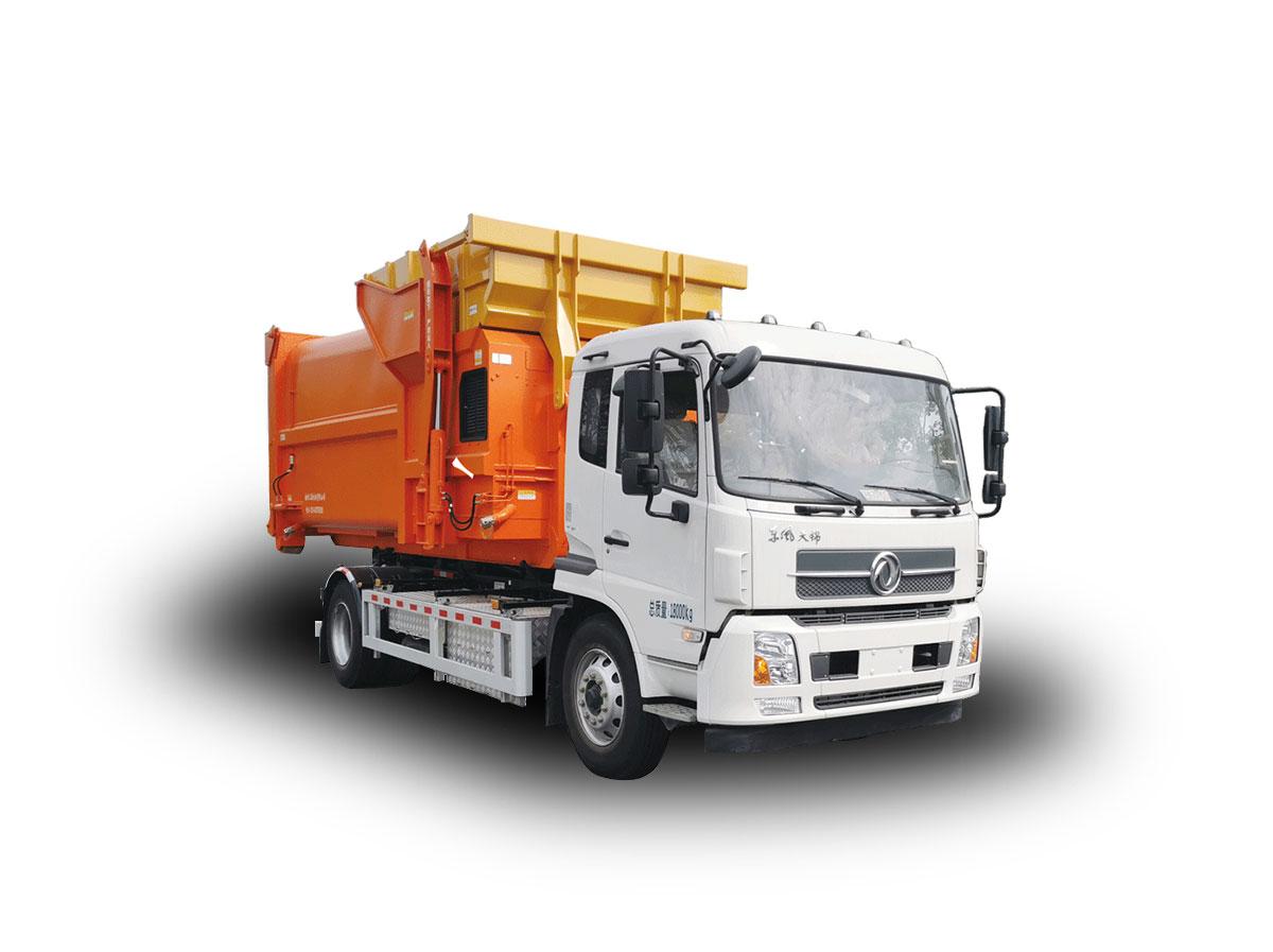 YSY5180ZXXBEV纯电动车厢可卸式垃圾车