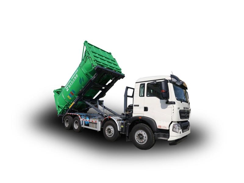 YSY5310ZXXE6车厢可卸式垃圾车(角件系列)