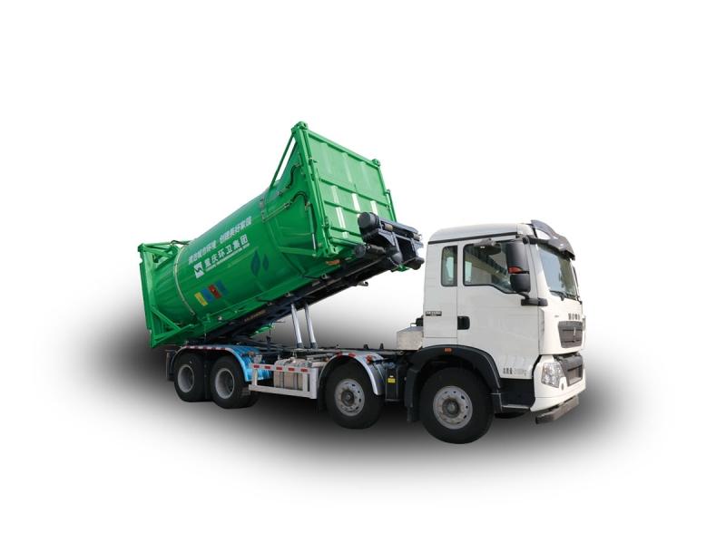 YSY5310ZXXE6车厢可卸式垃圾车(钢丝绳系列)
