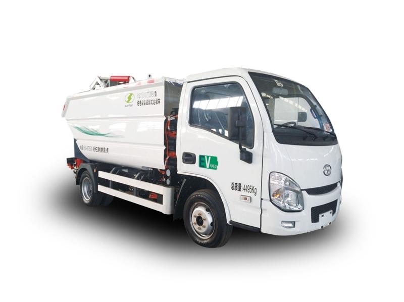 YSY5040ZZZBEV纯电动自装卸式垃圾车