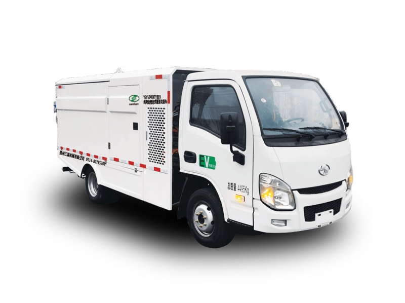 YSY5040XTYBEV纯电动密封式桶装垃圾车