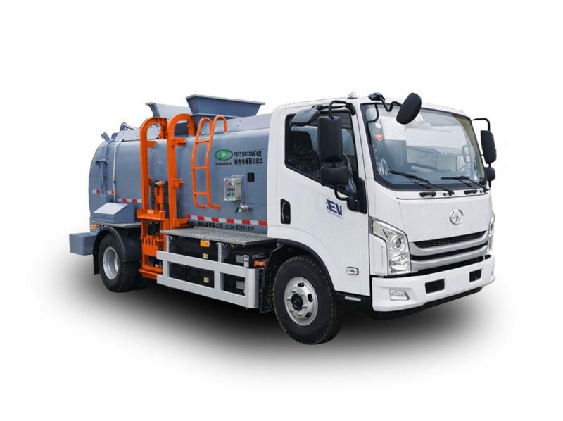 YSY5100TCABEV纯电动餐厨垃圾车