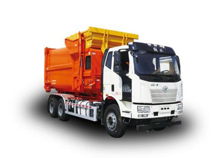 如何更换垃圾车内的劣质机油?